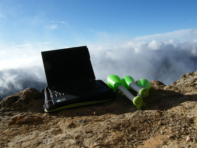 Cloud computing, or stupid things to carry to 6000ft