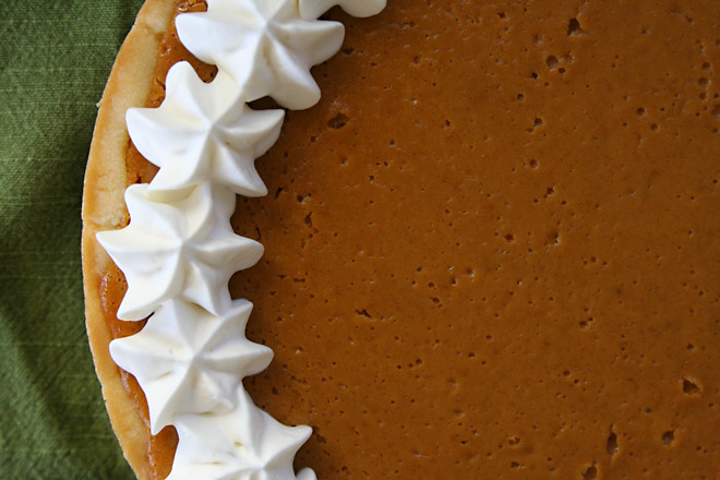 sour cream pumpkin tart 4