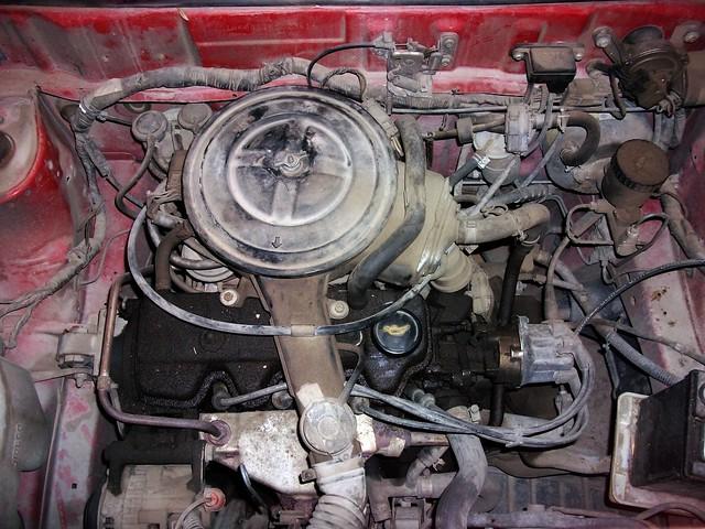 1989 Nissan Micra engine
