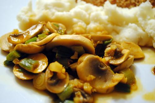 Asian Mushroom Sauté