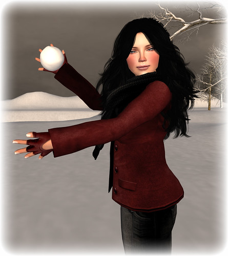 Snowball Fight Poses