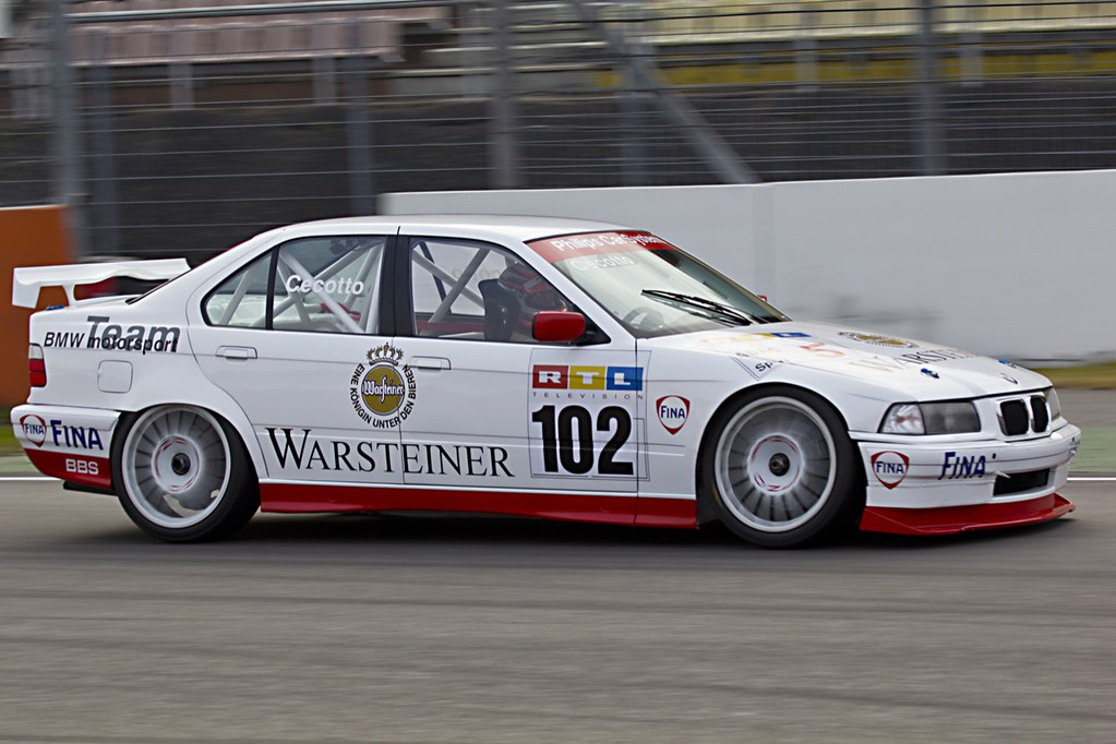 BMW E36 Race Car