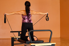 arm, exercise machine, exercise equipment, room, muscle, limb, leg, human body, pilates, physical fitness, physical exercise,