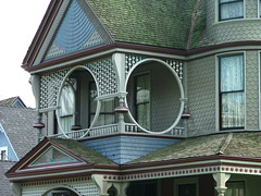 Historic Victorian / Craftsmen architecture in Los Angeles, Angelino Heights
