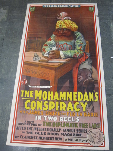 The Mohammedan's Conspiracy poster-version 2