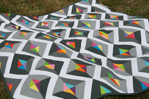 Prism : Quilt and Pattern for Quiltmaker Magazine ~ Fresh Lemons ... : modern quilt design - Adamdwight.com
