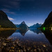 a night at Milford sound by CoolbieRe