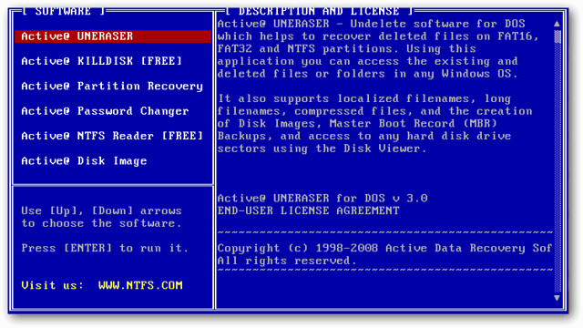 Captura-ActiveBootDisk-Interface-Dos