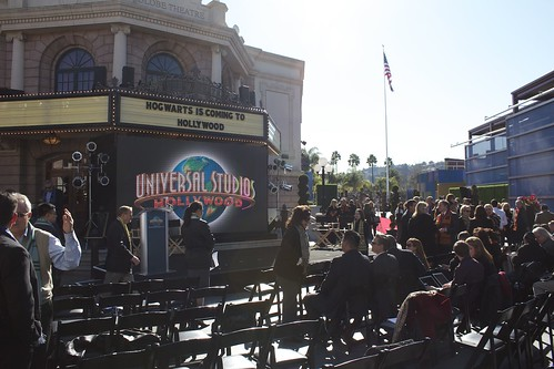 Harry Potter announcement at Universal Studios Hollywood