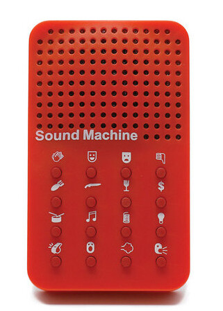 Sound Machine: It whistles, applauses and breaks. What a way to scare mum  as she is preparing the Christmas meal