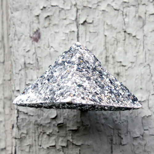 Sparkly Pyramid Ornament