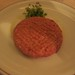 Steak Tartare at MR C