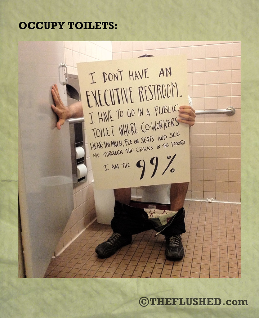 29 Occupy Toilets