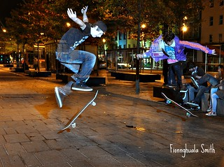 Cork At Night Skateboarders October 2011264