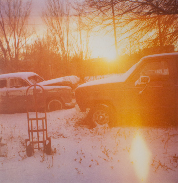 Clasped, Snow