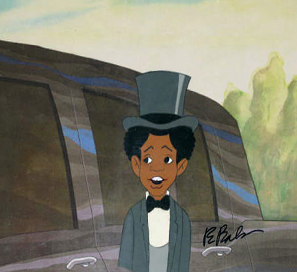 Micheal Jackson Original Production Cel