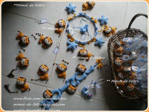 Todas as pecinhas de decoração do quarto do Júnior e as lembrancinhas para os q irão lhe dar BOAS VINDAS... by ♥ Mimos de Feltro by Angela Mary® ♥