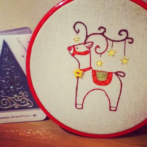 DMC reindeer free pattern