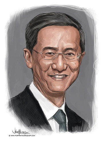digital portrait of PBM-Ang Teik Lim Eric