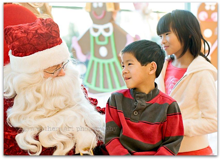 Santa visit 3 blog