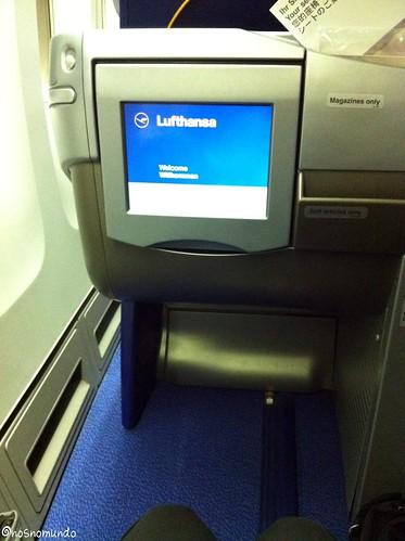 Voo Lufthansa - executiva