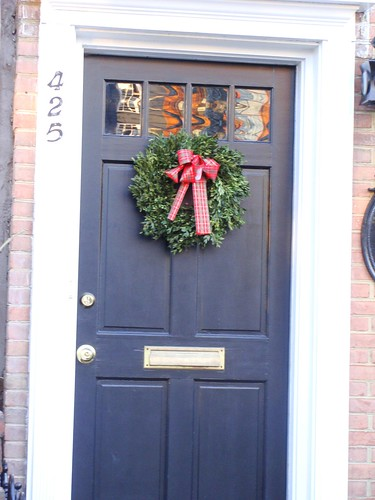 Wreaths on Doors
