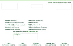 Green Geeks website sans images