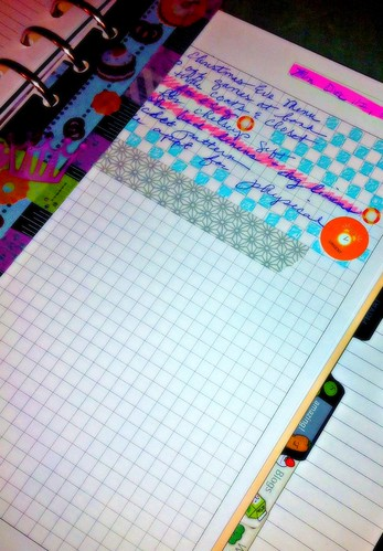 A5 filofax to do list