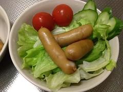 朝食サラダ(2011/12/13)