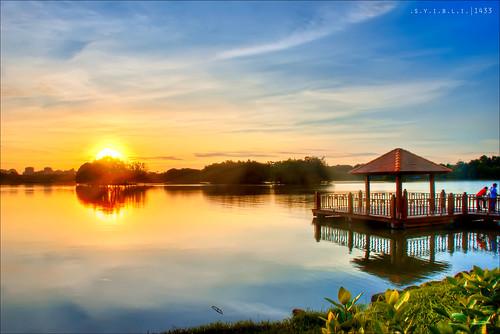 Taman Wetland || .S.U.N.S.E.T.