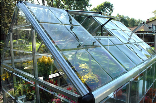 Greenhouse Palram Snap and Grow roof Greenhouse