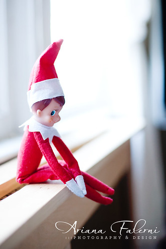 "Our elf on the shelf ""Sparkle"""