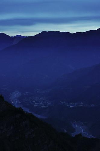 mountain sunrise river dawn taiwan valley chiayi alishan jhushan eeshawn