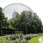 Photo Buckminster - Fullerène (Biosphère)
