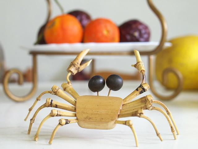 想吃水果的螃蟹:)