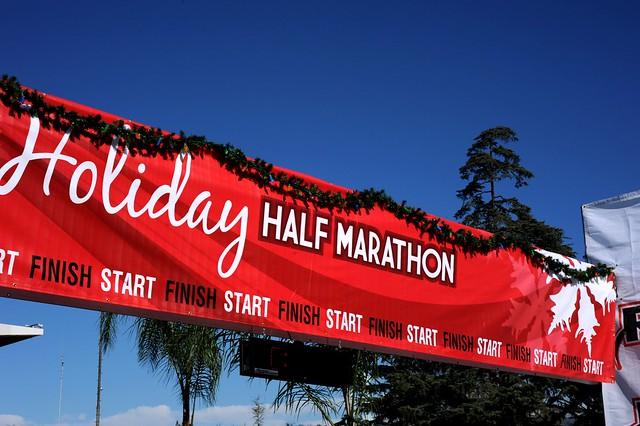 Holiday Half Marathon Banner