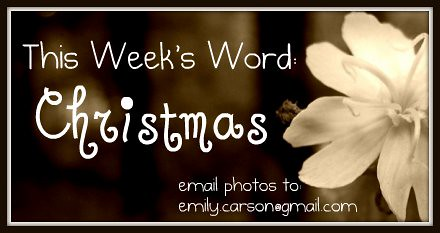 This week, Christmas