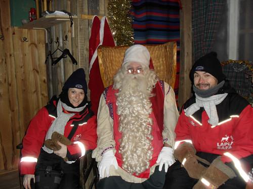 Visitando la Aldea de Santa Claus