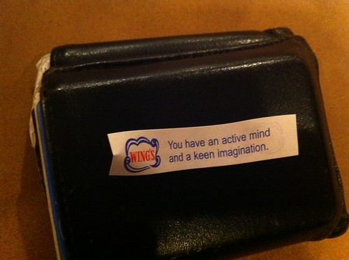 Nick's fortune cookie