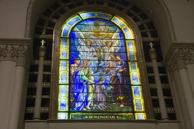 365.81 Tiffany Window, West-Park Presbyterian Church