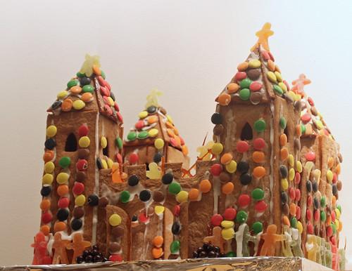 Gingerbread Castle Pattern