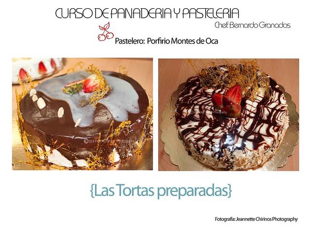 Tortas decoradas al mejor estilo de panaderia
