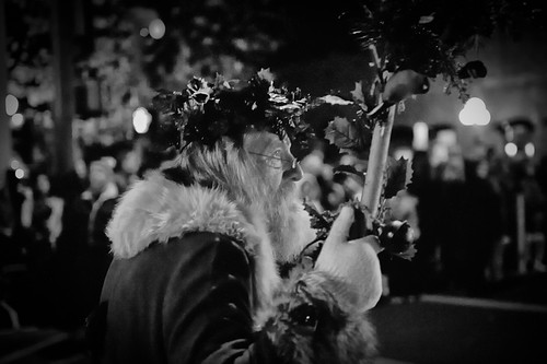 Father Christmas in Calistoga
