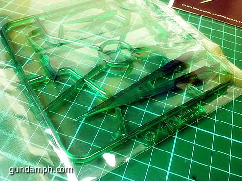6544023159 da00fcae0f MG Quan[T] GN Sword IV Full Saber | BTF Colored Resin Kit | Unboxing
