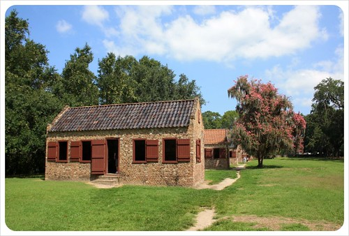 boone hall plantation slave quarters
