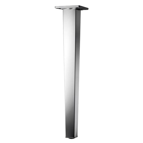 M0030 gamba gambe regolabili per tavoli cm 71 acciaio inox for Gambe per tavoli