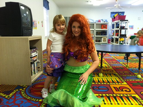 Ariel and the Birthday Girl