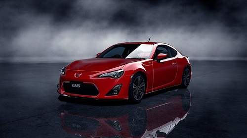 Toyota 86 GT '12_73Front