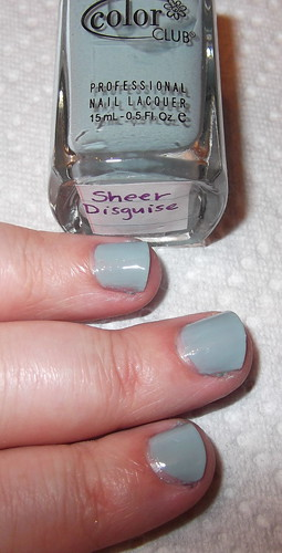 Color Club: Sheer Disguise
