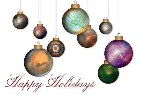 Hubble Holiday Card